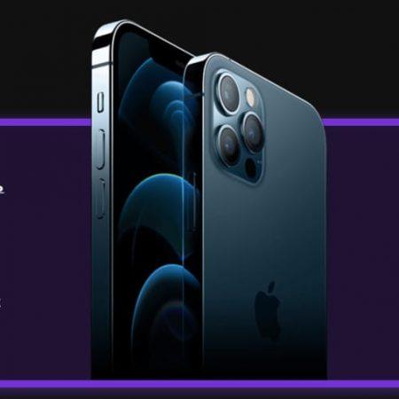 iPhone 12 Pro Max за торговлю на Weltrade